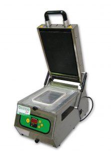Termosigillatrice Lavezzini Mod SV300 stampo 190x137 e stampo fuscella diametro 130mm