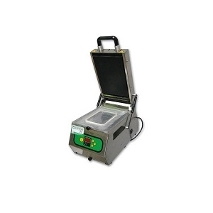 Termosigillatrice Lavezzini Mod SV300 stampo 190×137 e stampo fuscella diametro 130mm